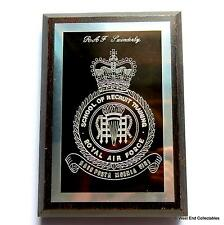 RAF Swinderby School of Recruit Training -Military Badge Plaque- Royal Air Force