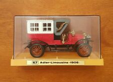 Ziss Euro-Modell Benz Adler Limousine 1906 With Case Made in Germany
