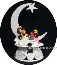 Nintendo Super MARIO Princess Kong Wedding Cake Topper funny Video Game Over