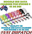 2XNoodle USB Data Sync Cable Charger For iphone 4 4S 3G 3GS 3ipad ipod