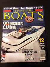 Trailer Boats Magazine Issue April 2001 20 Hot Wakeboard Boats Maxum