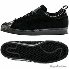 ADIDAS ORIGINALS EDDIE HUANG SUPERSTAR 80's MEN'S SHOES SIZE 10.5 BLACK F37748