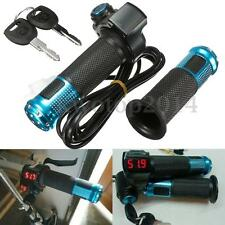 24V 36V 48V 60V EBike Electric Scooter Throttle Grip Handlebar LED Digital Meter