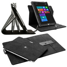 Black 360° Rotating Stand Snap-on Case Smart Cover for Microsoft Surface Pro 3