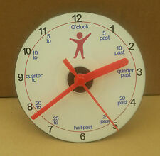 I CAN TELL THE TIME CD CLOCK great clock for learning the time autism/sen/school