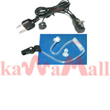1X Coil Tube ear mic for Midland LXT GXT G FRS Radios