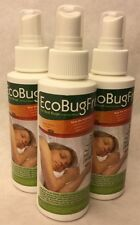 PACK OF 3: Eco Bug Free for Bed Bugs & Dust Mites 3.4oz Spray 407WQ.4E