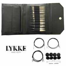 Lykke ::Driftwood Interchngeable Gift Set:: in Black Leather Pouch Brand New