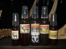 Pro 5 bottle Whitetail Scent Package,  Deer Hunting Guide Buck Lures!!!