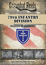 79th Infantry Division Normandy Invasion Combat Camera Film Footage Research DVD