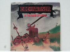 EXECUTIONER IN THE NAME OF METAL LP ORIG. 1986 STILL SEALED BOSTON THRASH METAL