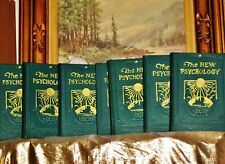 THE NEW PSYCHOLOGY BY  CHARLES F. HAANEL  1928 1st Edition In 7 Complete Set