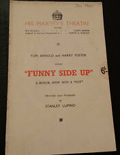 1940 His Majesty's Theatre: FUNNY SIDE UP - by Stanley Lupino