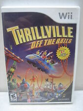 NINTENDO WII THRILLVILLE OFF THE RAILS GAME COMPLETE & TESTED