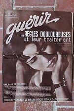 Ancienne revue - Guérir N°73 OCTOBRE 1935 - Règles douloureuses - médecine