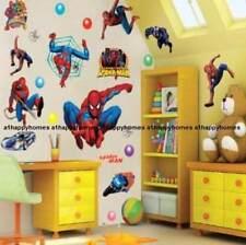 Grande SPIDERMAN Adesivi Da Parete Art Cameretta Bambini Ragazzi