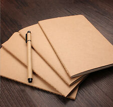 Classic Retro Cover Notebook Journal Diary Sketchbook Notepad Thick Blank Pages