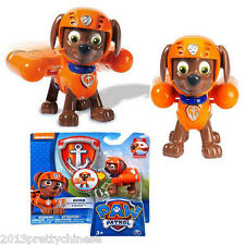 Paw Patrol Action Pack Pup & Badge Shield Dog Backpack Projectile Toy - Zuma