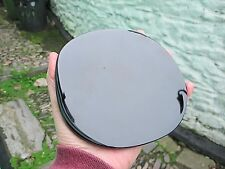 BLACK OBSIDIAN SCRYING MIRROR POLISHED CRYSTAL DIVINATION 14.75X14.5 CMS 316g
