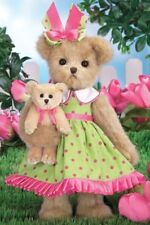 "14"" TULIP & TEDDY*Bearington Bear*NEW*NWT*Spring*Flower*Garden*143286"