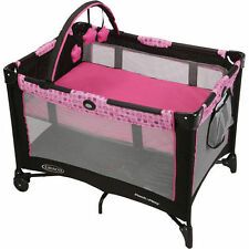 Graco Playard Pack n Play Playpen Baby Travel Crib Bassinet International Ship