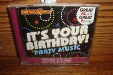 BIRTHDAY * It'sYour Birthday ! Party Music 16 Songs NEW  See Photos for List
