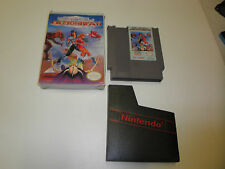 CLASH AT DEMONHEAD with BOX and GAME NINTENDO SYSTEM NES HQ BOX #C
