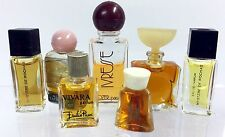 Lot of 7 Vintage Mini Perfumes Neiman Marcus Pucci Georg Jensen Ivress More