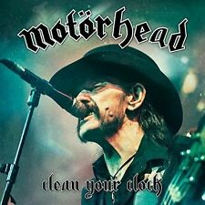 Motorhead Clean Your Clock 180g vinyl LP w/download NEW sealed