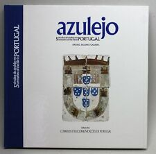 RARE 1986 STAMP BOOK/ AZULEJO/ 5 CENTURIES OF TILE IN PORTUGAL/ 20 MINT STAMPS