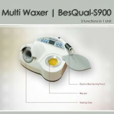 3 In 1 MULTI WAXER S900 WAX CARVER DIPPING POT AND FIRE FREE BURNER