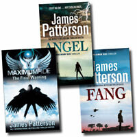 Maximum Ride Thriller Collection James Patterson 3 Books Set  The Final Warning