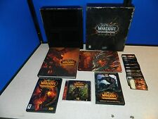 World of Warcraft Cataclysm Collectors Edition, DVD's, Mouse Pad, Cards, Book