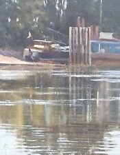 """ORIGINAL MICHAEL RICHARDSON """"Catspaws Ripples and Reflections"""" Sea OIL PAINTING"""