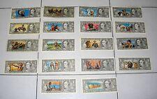 18 diverse figurine EDIS TORINO serie Far West Dollari Banconote Punti Raccolta