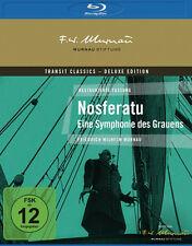 NOSFERATU - EINE SYMPHONIE DES GRAUENS Murnau 1922 DELUXE EDITION BLU-RAY Neu
