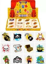 576 Pirate Temporary Children's Tattoos Wholesale Lot Job in asstd designs UK
