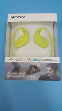 Sony NW-WS413 ws413 WaterProof 4GB Digital Music Sports MP3 Player (Lime Green)