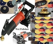 "3/4"" Bullnose Granite Counter Top Wet Polisher Concrete Polishing Pad Travertine"