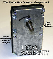 NEW WHITFIELD PELLET STOVE AUGER MOTOR - WARRANTY 1 YR - 12046300  ALMOST SILENT