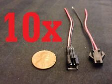 10 sets 10x Plug 2 Pin Socket Connector Lead jst avg lipo robot diy with wire a4