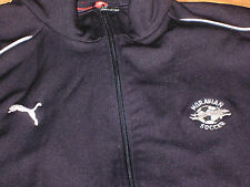 Moravian College Soccer long sleeve jacket PUMA XL black Greyhounds
