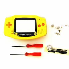 GBA Nintendo Game Boy Advance Replacement Housing Shell Screen Yellow Pikachu