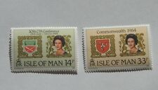 ISLE OF MAN  1984 COMMONWEALTH PARL. CONF. SC  272-73  SG 279-80  MNH