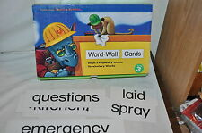 SCOTT FORESMAN PHONICS SYSTEM WORD-WALL CARDS in box grade 3 VOCABULARY SPELLING