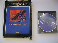 Utrabots PC Game CD-ROM Big Box Complete  Electronic Arts