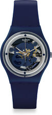 Swatch SQUELETTE BLUE Unisex Watch GN245