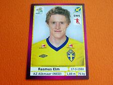 443 RASMUS ELM SVERIGE FOOTBALL PANINI UEFA EURO 2012
