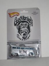 Hot Wheels Custom GAS MONKEY GARAGE VW DRAG BUS - Volkswagen Limited Edition