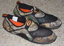 MENS SIZE 12 CAMO REALTREE AQUA SOCKS / WATER SHOES - BRAND NEW